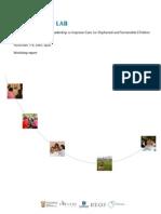 OVC Innovation Lab Report