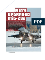 Russia's Upgraded MIG-29s