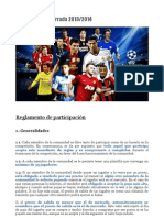 Reglas Champions 13.14
