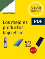 Tarifa Solar Energy 2012-13
