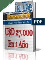 E-book Como Ganar $27,000 Dolares en 1 Año