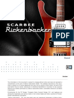 Scarbee Rickenbacker Bass Manual English