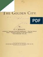 B F Barrett THE GOLDEN CITY Philadelphia 1874