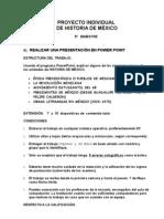 TRABAJO FINAL DE HISTORIA DE MÉXICO. 5º BIMESTRE