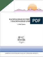 Racionalidad Occidental y Racionalidad Andina CUA2