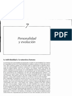 Capitulo 7. Personalidad y Evolución (Libro Brody y Herlichman)