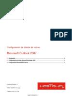Hostalia Exchange Configuracion Outlook2007