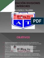 Periodización Divisiones Inferiores del Atlético Talleres