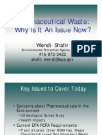 Pharmaceutical Waste: Why Is It An Issue Now?