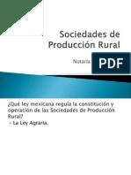 Sociedades de Producción Rural
