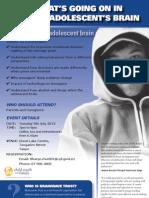 Brainwave seminars on the Adolescent Brain