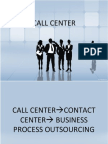 Lesson a Call Center Overview