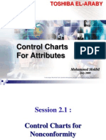 Control charts for attributes 2