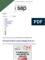 Present Perfect versus Simple Past (1) _ Tecla SAP __ Dicas de Inglês