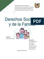 derechos sociales y de la familia Bs, 60,ºº