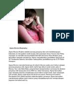 Agnes Monica Biography
