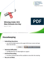 Winning Under Affordable Care Act (ACA)