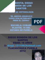 Precentacion de Diego