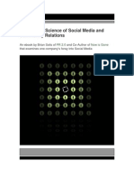 The Art and Science of Social Media and Community