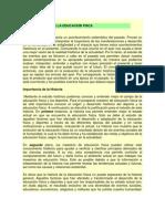 HISTORIA DE LA EDUCACIÓN FÍSCA
