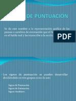 Diapositivas Signos de Puntuacin