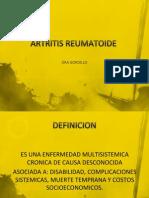 Artritis Reumatoide Setiembre 2012