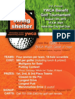 Swing FORE Shelter Poster