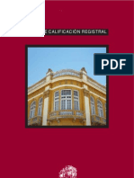 Guias de Calificacion Registral  - Guatemala