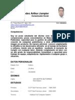 Curriculum Vitae Arthur Agüero