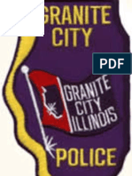 Granite City Police Department Organization Of The Police Department Manual