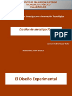 Clase Diseños Experimentales IIT