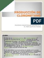 PRODUCCIÓN DE CLOROMETANO