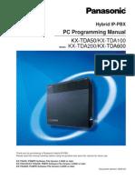 KX-TDA50 v 30 PC Programming