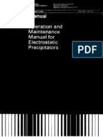Manual Operation & Maintenance Manual for ESP