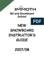 New Snowboard Instructors 08