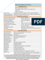 ECG Hallazgos Caracteristicos 2011