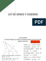 ejercicios LeySenosyCosenos mate.ppt
