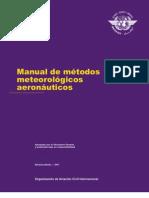 Doc 8896 Manual de métodos meteorológicos aeronáuticos 9na Edición 2011