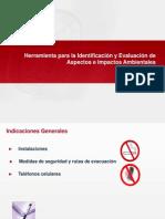 Lev Aspectos y Eval Impactos ISO 14001-2004 Ene.2010