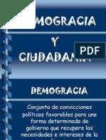 Cuidadania y Demogracia
