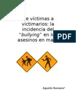 Seccion Articulos - De Victimas a Victimarios