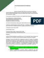 Examen Final Evaluacion de Software