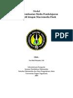 Teknik Pembuatan Media Pembelajaran Interaktif Dengan Macromedia Flash