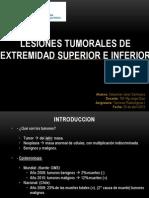 Lesiones Tumorales de Extremidad Superior e Inferior