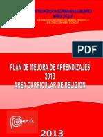 Plan de Mejora 2013 (Reparado)