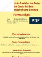 CLASE 08 - Farmacodinamia