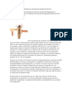 Detección y solución de fallas en válvulas de expansión térmica (2)