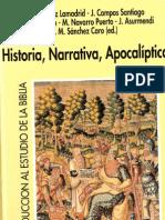 Antonio Gozales Lamadrid y Otros (Eds.), Historia, narrativa, apocalíptica
