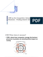 Ch 2 - CSR as the Competitive Advantage (1)