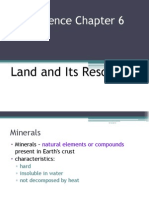 Science F3 Chap 6 Land and It s Resources